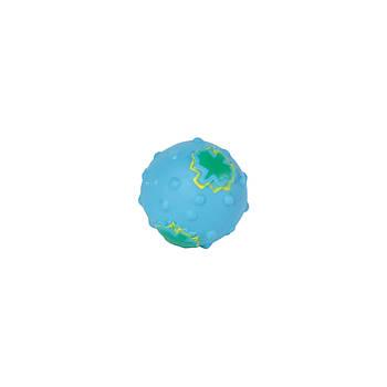 Игрушка для собак FOX виниловая мяч с кленовым листом, 6 см