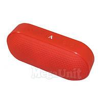 Портативная Bluetooth колонка беспроводная A80 (microSD, USB, FM, HF) Красный