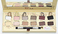 The Balm Palettes Nude Tude Palette-Naughty Packaging - Палетка теней, 11 г