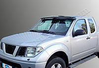Nissan Navara Козырек на лобовое стекло на раме