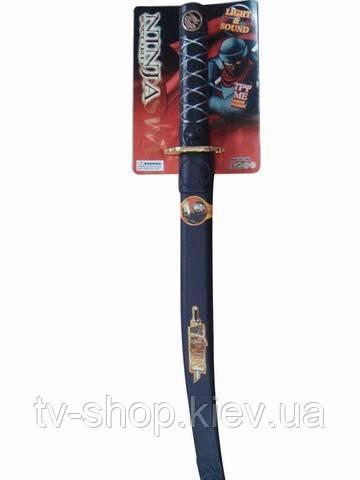 Катана меч  Ниндзи (свет,звук)