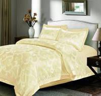 Жаккардовое постельное белье love you 2-17 размер двуспальный евро