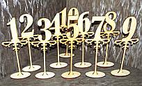 Номерки на свадебный стол Номерки_на_стол_1