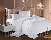 Постельное белье страйп сатин love you белый двуспальный евро размер