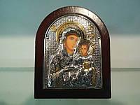 Божья Матерь Иерусалимская икона мельхиор