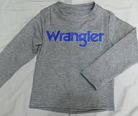 Детский батник для мальчика оптом 92-116 серый