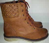 Ботинки женские зимние № 409 натур кожа KARO