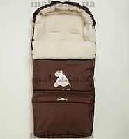 Зимний конверт-трансформер Ал-лен™ (коричневый), фото 1