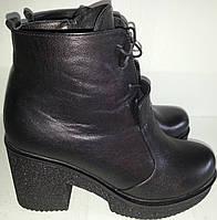 Ботинки женские зимние NIKA натур кожа KARO