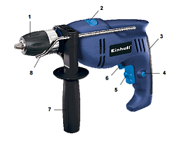 Дриль ударний Einhell BT-ID 550 E