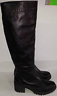 Сапоги женские зимние № 688 натуральная кожа KARO