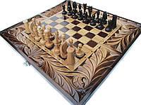 Шахматы с нардами ручной работы