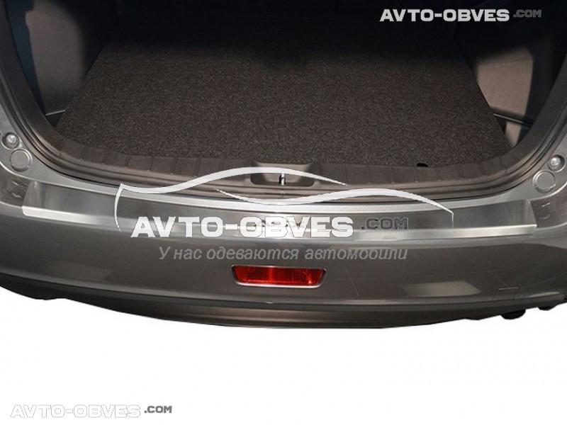 Накладка на бампер с загибом для Mitsubishi ASX