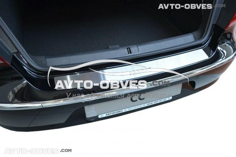 Накладка на задний бампер VW Passat CC 2008-2012 без загиба