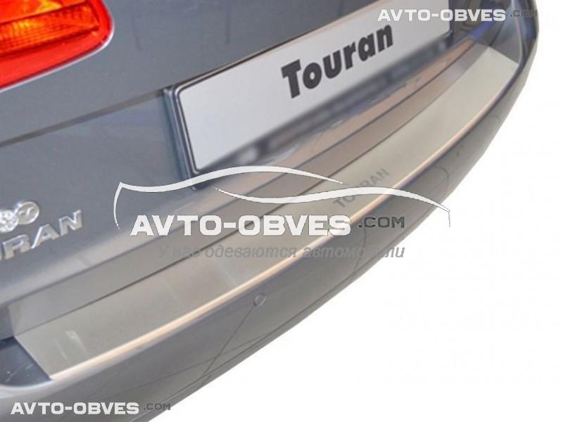 Накладка на бампер с загибом для VW Touran II 2010-2015