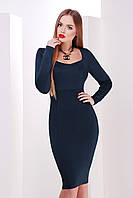 Платье Адриана - изумруд