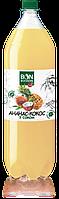 Ананас-кокос з соком 2л.