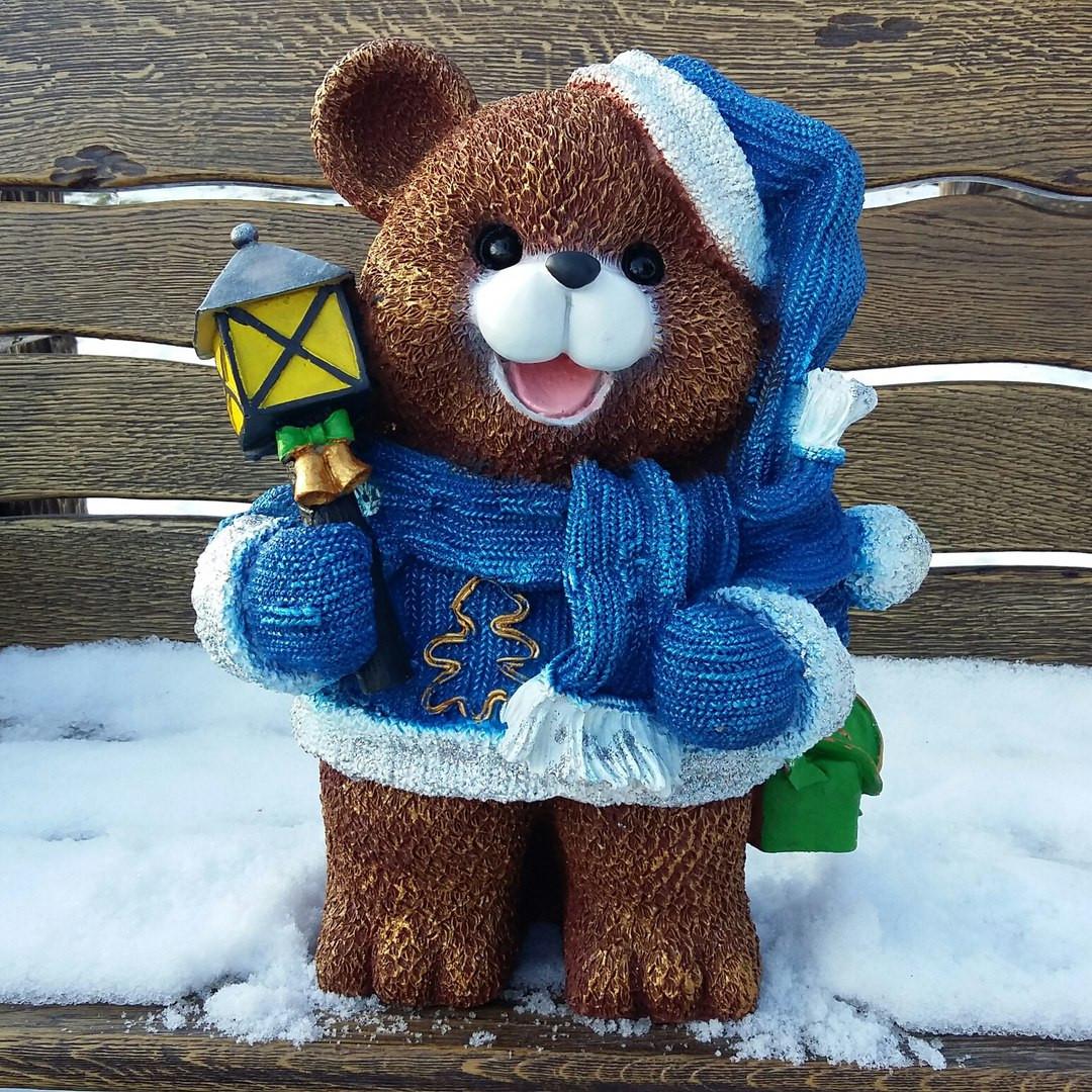 Медвежонок с фонариком №1