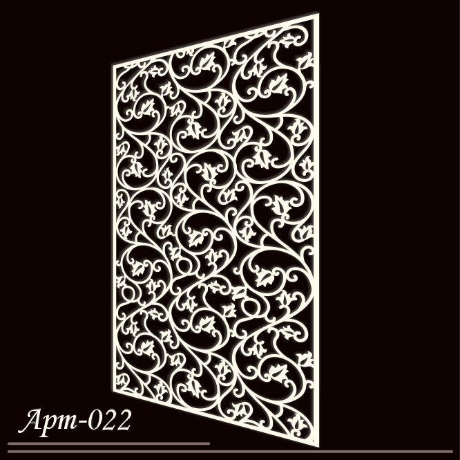 Резная панель  АРТ-022