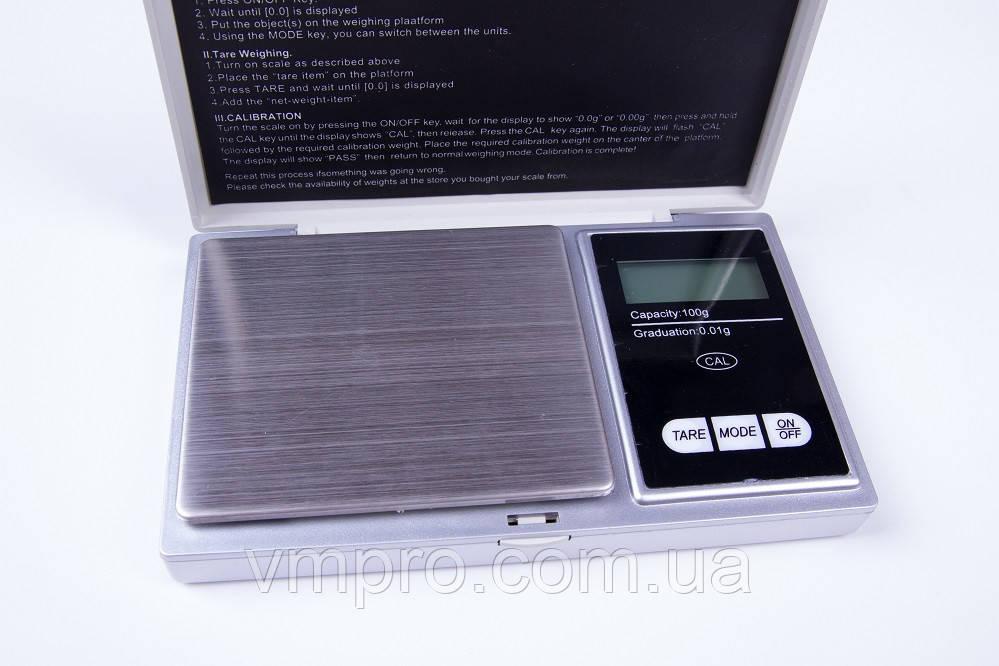 Весы ювелирные электронные E-05.100 гр.  , фото 1