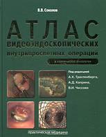 Соколов В.В. Атлас видеоэндоскопических внутрипросветных операций в клинической онкологии