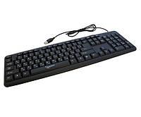Клавиатура Gembird KB-U-103-UA стандартная, USB, черная