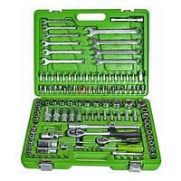 """Набор инструментов Alloid НГ-4130П (130ед) 1/2-1/4"""" (10-32/4-14мм+Е+ высок+свечн+4удл+ трещ+кард+биты+ключи)"""