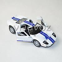 Машинка 2006 Ford GT метал 1:36 белая