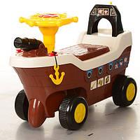 Машинка каталка Bambi Кораблик