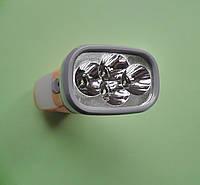 Фонарик ручной светодиодный 212 аккумуляторный