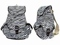 Стильный рюкзак женский Зебра