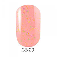 Naomi Candy Bar гель лак, 6 мл, №020