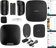 Комплект беспроводной Smart IP/GSM сигнализации Ajax JEWELLER All Inclusive Black