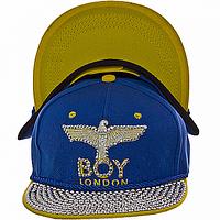 Бейсболка модная синяя London Boy