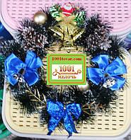 Рождественский или новогодний веночек.