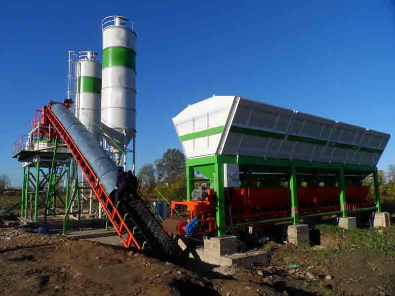 мини завод по производстве бетона