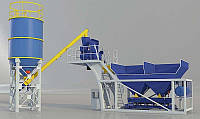 Производство жидкого бетона