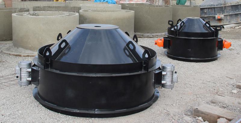 Купить формы для изготовления вазонов из бетона