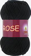 Пряжа Rose Vita Cotton, № 3902, черный