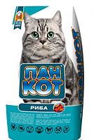 Пан-кот Сухой корм для кошек, рыба 10кг