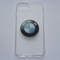 Чехлы для iPhone 7 Plus BMW силиконовые