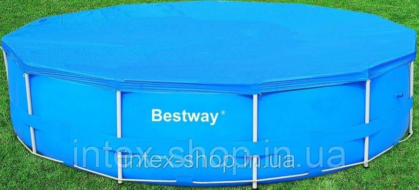 Чехол защитный для бассейна круглого Bestway 58037 366 см , фото 2