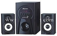 Акустическая система AILIANG USBFM-F30DC-DT 4 дюймов аудиоколонки USBFM-F30 / 2.1