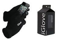Теплые перчатки для работы с сенсорными экранами IGlove Black 5 Tip