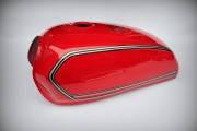 Бак топливный Альфа / Сабур красный Mototech