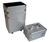 Большой косметический чемодан 4-ох секционный, фото 4