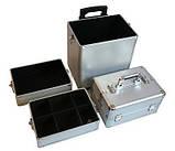 Большой косметический чемодан 4-ох секционный, фото 6