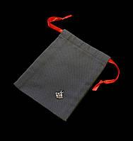 Мешочек серого цвета от Skifska Etnika, (10,5х13,5 см), атлас, уп 5 шт