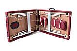 Массажный стол  двух-сегментный алюминиевый 4 цвета, фото 8