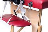 Массажный стол двух-сегментный деревянный 4 цвета, фото 5